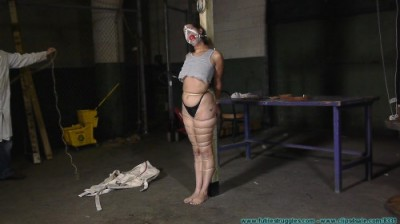 Cruel Gags, Strait Jacket, Twine, Plastic Wrap, and Tape for Summer - Part 2 - HD 720p