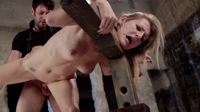 First Time Fucked In Bondage - Only Pain HD
