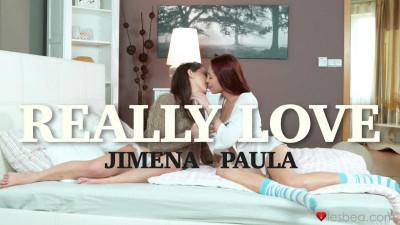 Jimena Lago, Paula Shy - Really Love FullHD 1080p