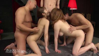 Description Maki Koizumi, Yui Misaki - Japanese Group Orgy With Anal Sex