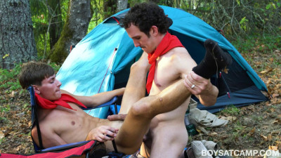 Boys At Camp – Scout's Orientation