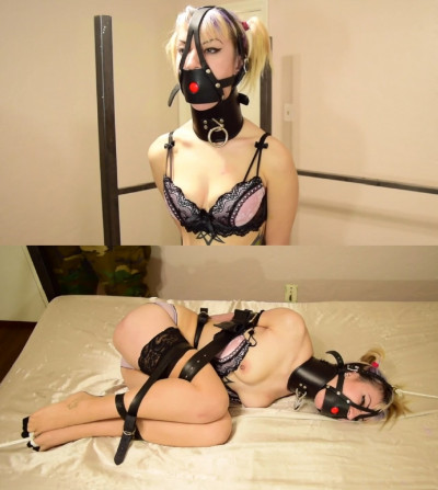 Bondage, domination and balltie fo beautiful young girl