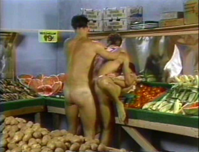 Bisexual Sex in supermarket