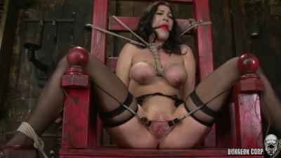 Kymberly Jane (bondage, pain, tit).