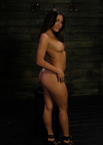 Sexy and current sex slave Mena Li