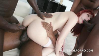 Alex Harper gets 5 BBC with balls deep anal HD