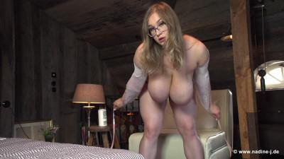 big tit milf teasing her tits