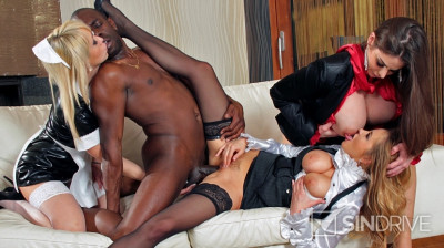 High Class Ass! Big, Black Dong Pounds Some Ass And The Hired Help Licks Up That Creampie! (2017)