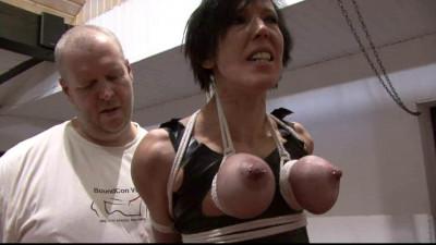 Breast Suspension Challenge For Slave Eva