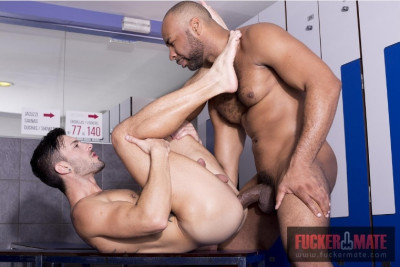 The coach fucked me in the locker room!