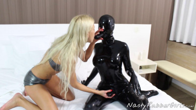 Kinky rubber fuck shower dressing fuck puppet part one (2017)