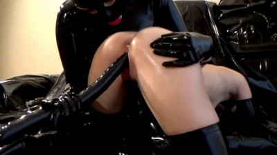 Super bondage, domination and torture for two sexy girls in latex 1080p