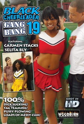 Black Cheerleader Gangbang 19