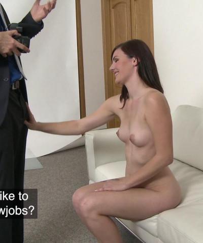 Elena Vega — Pretty and shy model rides cock FullHD 1080p