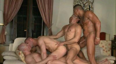 Raw man orgy