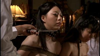 Bite woman enema