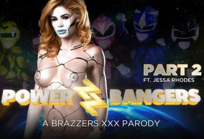 Jessa Rhodes, Katrina Jade - Power Bangers: A XXX Parody Part 2 FullHD 1080p