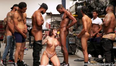 Big Tits Milf Ivy Lebelle Takes Many Black Cocks