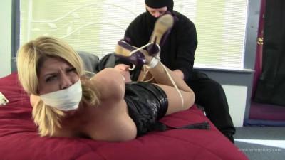 Carissa Montgomery – Masked Man Binds the Busty Blonde