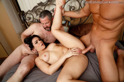 suck cock fan watching - (Kimber Woods - Get Fucked)
