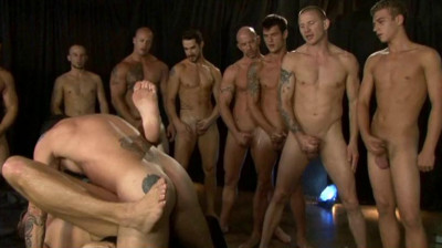 Raw Gangbang Party With Frat Boys