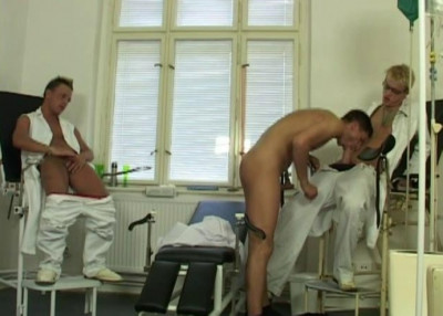 Anal Party At Clinic
