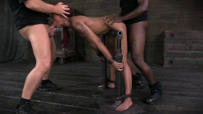 SexuallyBroken Ass out and throat ready, Skin Diamond bent over