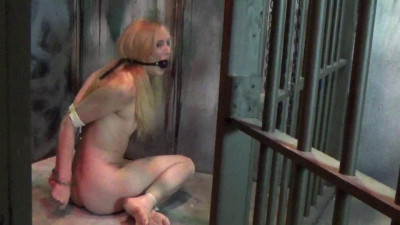 Naked Bound And Caged! Part One