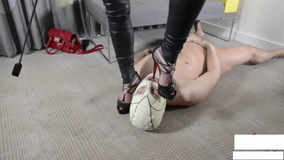 assfucking strap-on — eat your cum!