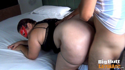 huge booty milf latina fucked hard at house