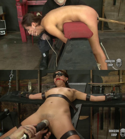 Bondage, spanking and torture for sexy young model part 2