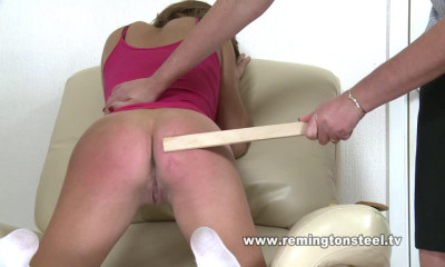 Remingtonsteel - English-spankers showing girls being spanked - pt4