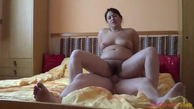 Hairy BBW Milli, homeporn