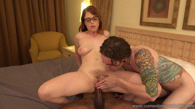 CumEatingCuckolds Penny Pax starring in Ready To Swing - tiny, black man, big, hair, suck