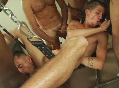 No-limits total gangbang