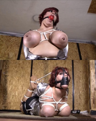 Extreme Bondage And Hogtie For Hot Woman With Very Big Tits