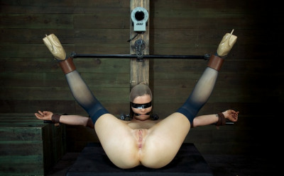 Cute girl next door, is put in the Insex mask, brutally fucked, made to squirt like a slave