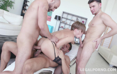 Monster DP Gangbang For Russian Milf Sasha Zima