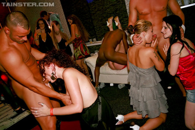 The Lot Of Fucking Going On At This Hot Night Party