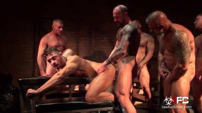 Description Raw Fuck Club - Seth Santoro's Gang Bang Pt 1