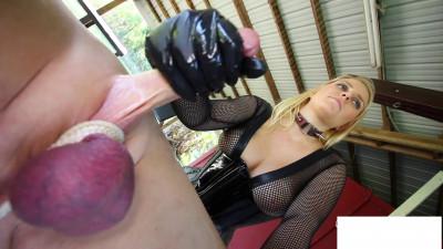 Description Vanessa-Painful Milking Day for Slave