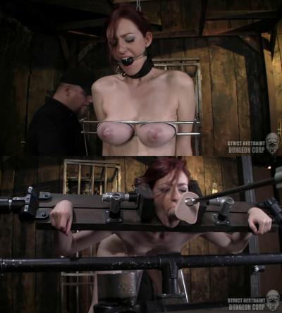 Hard bondage, spanking and torture for naked slavegirl part 1
