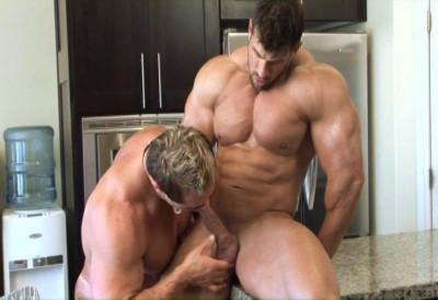 Burning Bodybuilder Zeb Atlas Looking Boyfriend