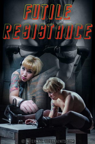 Elizabeth Thorn Futile Resistance (free, humiliation, woman, bondage)