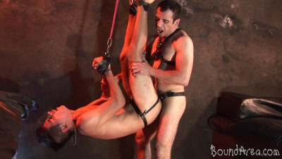 BoundArea - Twink Slave Ravaged Raw In All Sorts of Suspension