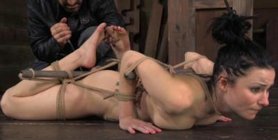 Little Slave Enjoys Bondage