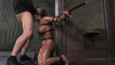 Description Milf-tastic Ava Devine, sybian orgasmed out of her mind while brutally throat sex