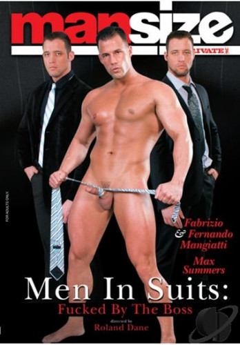 Private Mansize #14 - Men In Suits Fucked By The Boss