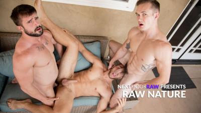 Next Door Raw - Raw Nature (Jackson Traynor, Mathias, Carter Woods) 1080p