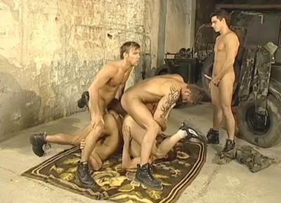 Description Military boys enjoys hard fuck & group sex